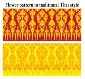 Het patroonachtergrond van hibiscusmutabilis Royalty-vrije Stock Foto