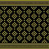 Het patroonachtergrond van Thailand royalty-vrije illustratie