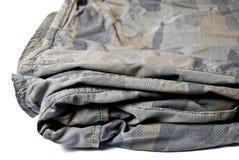 Het patroonbroeken van de camouflage Stock Afbeeldingen