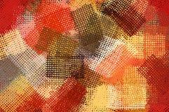 Het patroonillustratie van de inkt Stock Afbeelding