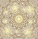Het patroonkaart van de de winter Keltische knoop, mandala, amulet Stock Foto