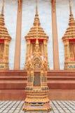 Het Patroonmuur van de tempel Thaise Stijl Stock Afbeeldingen