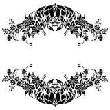 Het patroonontwerp van de bloem Royalty-vrije Stock Afbeeldingen
