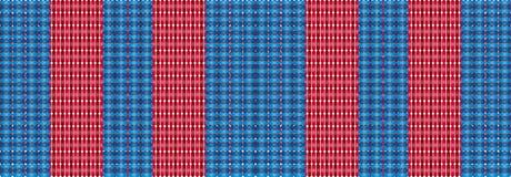 Het patroonontwerp van de jeanstextuur voor textiel Stock Fotografie