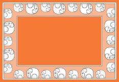 Het patroonrood van de olifant Stock Fotografie