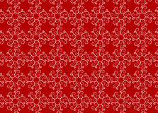 Het patroonrood van het ornament Royalty-vrije Stock Foto