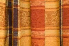 Het patroonstof van het geruite Schotse wollen stof Royalty-vrije Stock Afbeelding