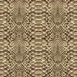 Het patroontextuur van de slanghuid naadloos herhalen Vector Textuurslang Modieuze druk Royalty-vrije Stock Afbeelding