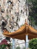 Het paviljoen dichtbij berg Royalty-vrije Stock Afbeelding