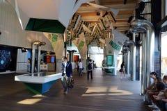 Het paviljoen Milaan, Milaan Expo 2015 van de V.S. royalty-vrije stock afbeeldingen