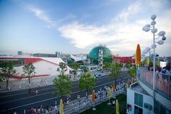 Het Paviljoen Shanghai-Oostenrijk van Expo 2010 Stock Afbeeldingen