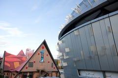 Het Paviljoen Shanghai-Singapore van Expo 2010 Stock Foto