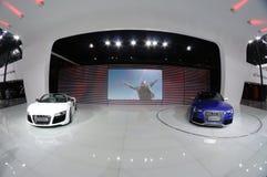Het paviljoen van Audi Royalty-vrije Stock Foto