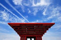 Het Paviljoen van China Royalty-vrije Stock Afbeeldingen