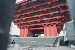 Het Paviljoen van China van Expo 2010 royalty-vrije stock afbeelding