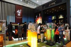 Het paviljoen van de Alcohol van Swellfun Stock Foto
