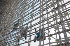 Het Paviljoen van de Industrie Shanghai-Japan van Expo 2010 Royalty-vrije Stock Afbeelding