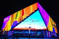 Het Paviljoen van de olie in Shanghai 2010 EXPO Royalty-vrije Stock Afbeeldingen