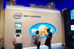 Het Paviljoen van de V.S. in Expo2010 Shanghai China stock afbeelding