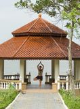 Het paviljoen van de yoga royalty-vrije stock fotografie