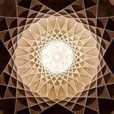 Het Paviljoen van Dowlatabad vector illustratie