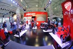 Het paviljoen van Ducati Royalty-vrije Stock Afbeelding