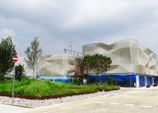 Het paviljoen van Expo 2015 Stock Foto's