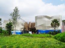 Het paviljoen van Expo 2015 Stock Foto