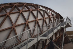 Het paviljoen van Maleisië in Expo 2015 in Mialn, Italië royalty-vrije stock foto's
