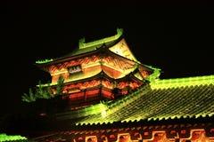 Het paviljoen van Nan-Tchang tengwang, jiangxi, China Royalty-vrije Stock Fotografie