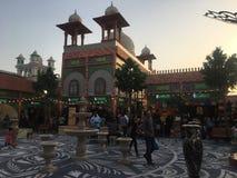 Het paviljoen van Pakistan bij Globaal Dorp in Doubai, de V royalty-vrije stock afbeeldingen