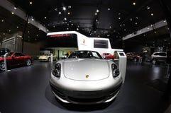 Het paviljoen van Porsche Stock Afbeeldingen