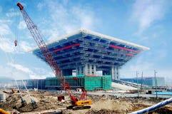 Het paviljoen van Shanghai Expo China Stock Foto
