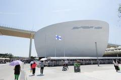 2010 het Paviljoen van Shanghai Expo Finland Stock Fotografie