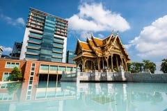Het paviljoen van Thailand stock afbeelding