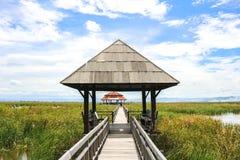 Het Paviljoen in Zuidelijk Thailand Stock Foto's