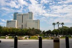 Het Peabody-Hotel op Internationale Aandrijving in Orlando royalty-vrije stock fotografie