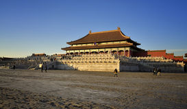 Het Peking Verboden Paleis van de Stad stock fotografie