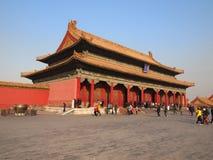 Het Peking Verboden Paleis van de Stad royalty-vrije stock afbeelding