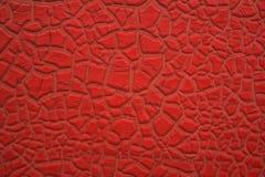 Het pellen rode textuur 1 royalty-vrije stock fotografie