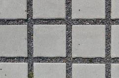 Het permeabele concrete bedekken Stock Fotografie