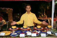 Het personeel of de kelner van het restaurant Stock Fotografie