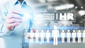 Het personeel, u-beheer, Rekrutering, Talent wilde, Werkgelegenheids Bedrijfsconcept stock foto's