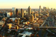 Het Perspectief van Atlanta Stock Afbeeldingen
