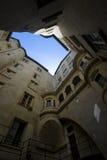Het perspectief van de architectuur Royalty-vrije Stock Afbeelding