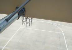 Het perspectief van de basketbalrugplank Stock Fotografie