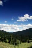 Het perspectief van de berg Royalty-vrije Stock Afbeeldingen