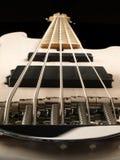 Bass Guitar Neck Perspective Stock Afbeeldingen