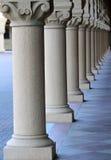 Het perspectief van de kolom Stock Foto