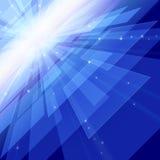Het perspectief van de kosmische ruimte vector illustratie